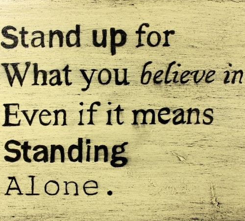 Stand Up For What You Believe In Emilio Cogliani