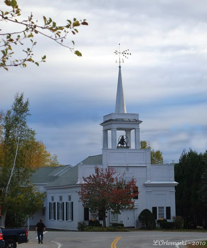 Church in Historic Jackson Falls
