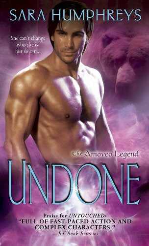 Undone (The Amoveo Legend) by Sara Humphreys