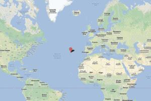 Archipel des acores au large de l ocean atlantique