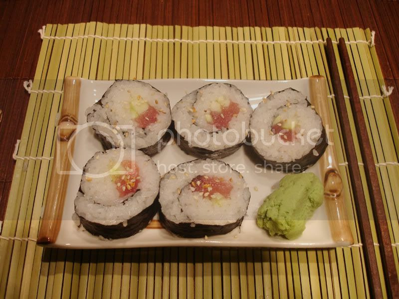 Tekka Maki with Cucumber
