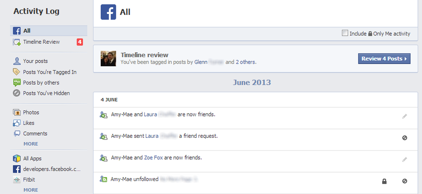 how to delete shared post on facebook