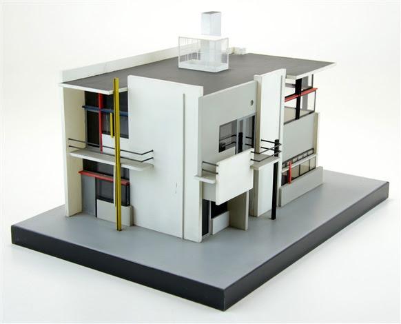 A model Rietveld Schröder House von Gerrit Rietveld auf artnet