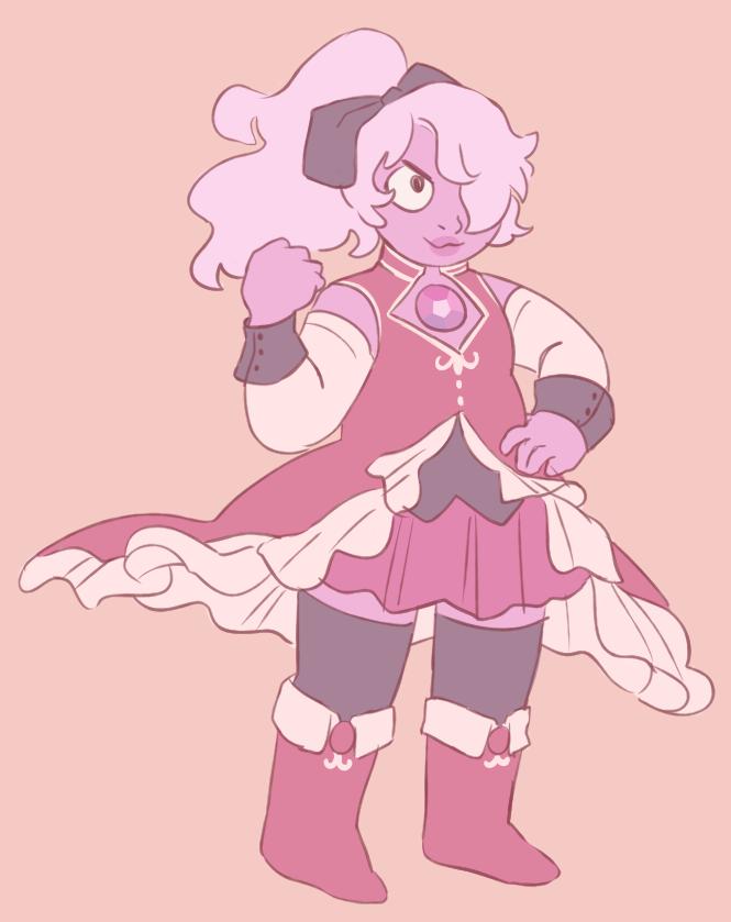 Amethyst as Kyoko from madoka magica