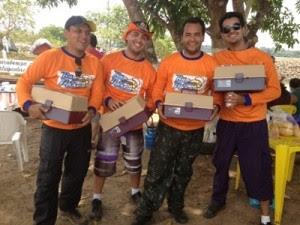 Competição atraiu participantes de outros estados do país (Foto: Vanessa Vasconcelos/G1)