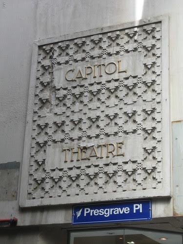 Capitol Theatre Sign, Melbourne