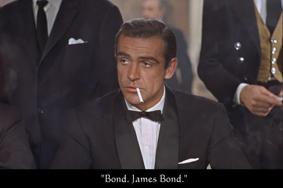 Image result for the name's bond james bond