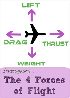 Investigating the 4 Forces of Flight