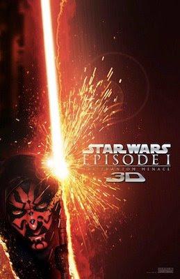 Star Wars Episode I: The Phantom Menace 3D  poster