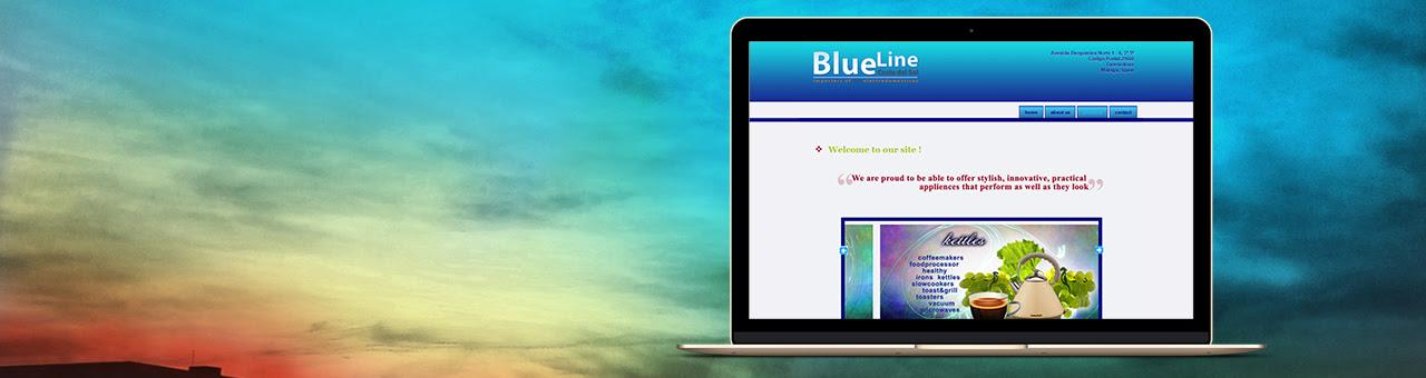 web blueline cosa del sol