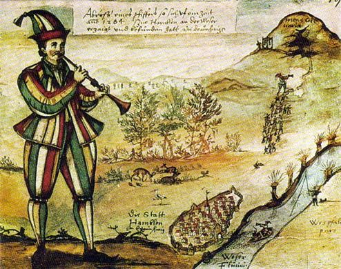 La imagen más antigua conocida del Pied Piper
