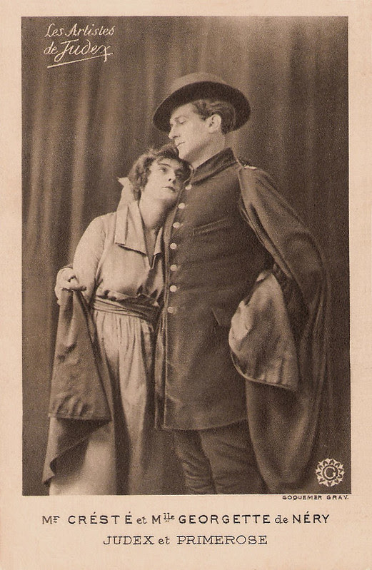 René Cresté & Georgette de Néry in La nouvelle mission de Judex