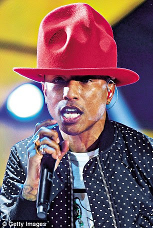 Of the current artists, I like Pharrell Williams; Blurred Lines and Happy are great songs