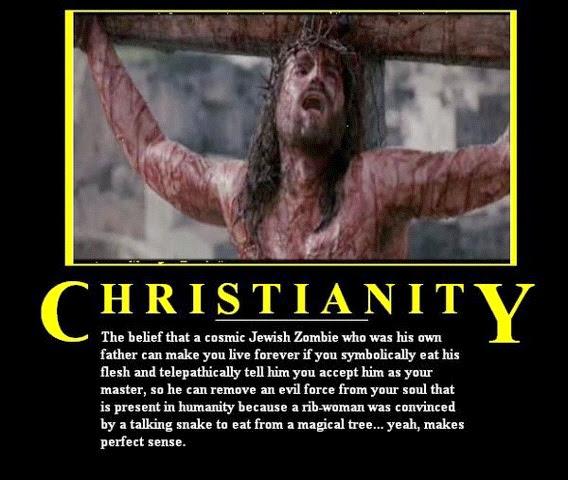 Very scary, masochistic God