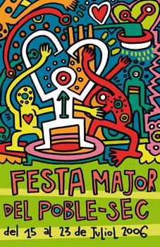 "Cartel ""Festa Major de Poble Sec 06"""