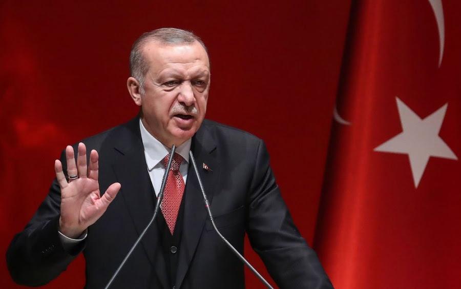 Απειλεί ο Erdogan: Παραβιάζονται τα δικαιώματα μας σε Αιγαίο, ανατολική Μεσόγειο - Ο στρατός θα σταματήσει τις πιέσεις