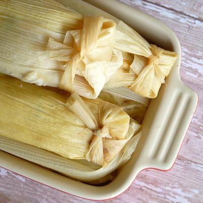 Viva Vegan - Black Bean - Sweet Potato Tamales