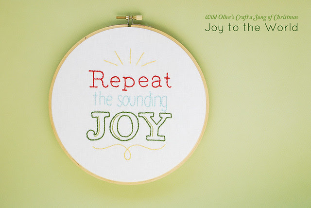 Joy to the World Lyric Patterns
