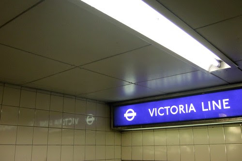 Victoria Line by Blech