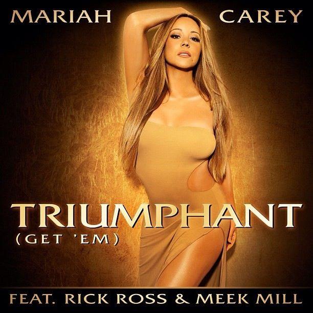 Triumphant (Get 'Em) (Single Cover), Mariah Carey