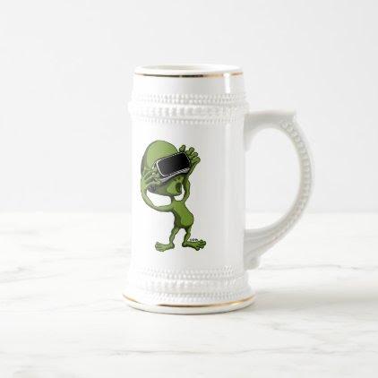 VR Alien Beer Stein