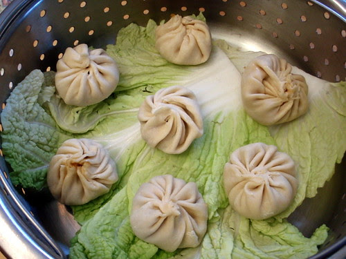 Wrapped xiao long bao