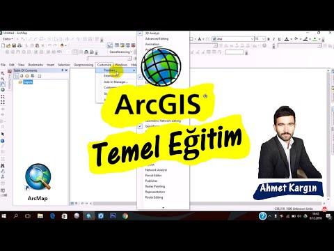 ArcMap 10.3 Giriş Tanıtım