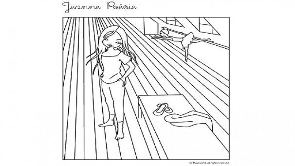 Bonus Dessins Jeanne Poésie Héros Tiji