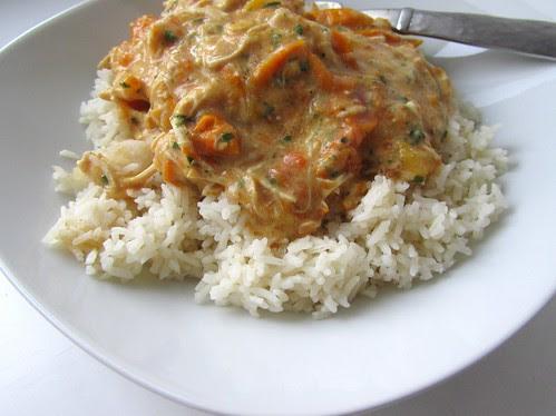 Slow Cooker Tomato-Chicken Yum
