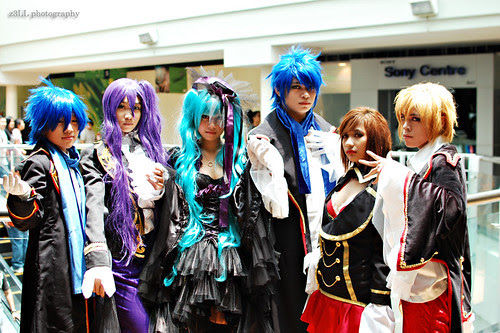 Vocaloid Sandplay Cosplay