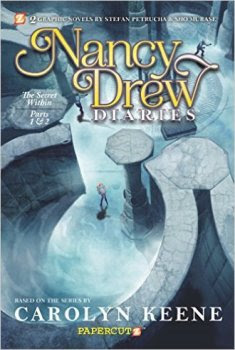 Nancy Drew Diaries Graphic Novel Cover Art