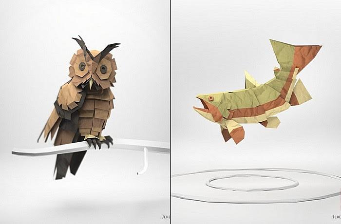 «Бумажный Лис» Джереми Кула: Сова и Рыба