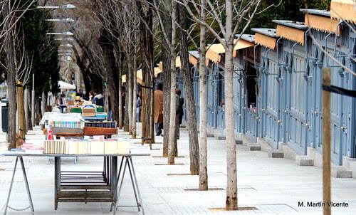 Cuesta de Claudio Moyano: libros en la calle