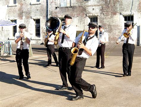 Sydney New Orleans Marching Band   View Photos   Wedding