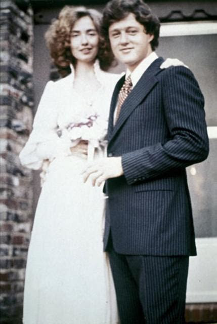 Bill Cllinton and Hillary Clinton wedding photo (2