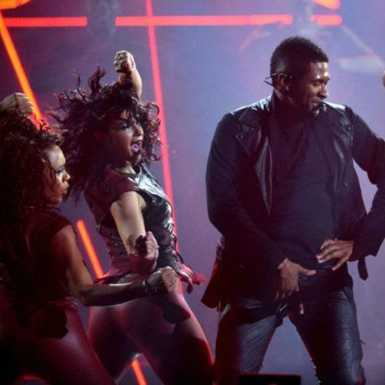 2012 AMA, Usher