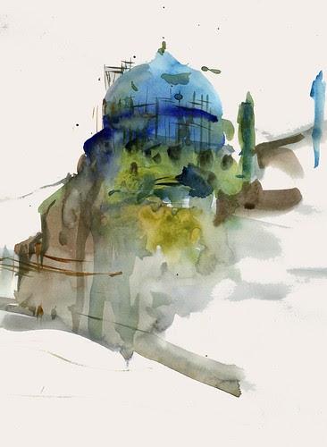 Imam mosque (Shah Abbas mosque) by Behzad Bagheri