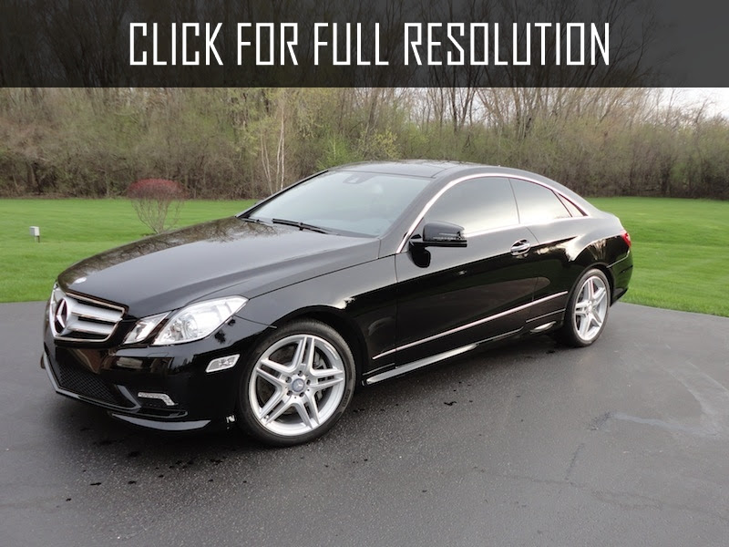 2012 Mercedes Benz E Class Coupe best image gallery #9/24 ...