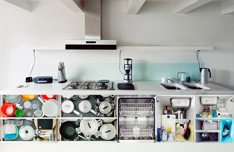 6 portraits of kitchen contents