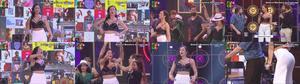 Debora Monteiro super sensual no programa Lip Sync