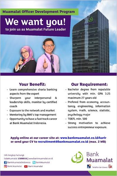Lowongan Kerja Terbaru Bank Muamalat Indonesia - Quality ...
