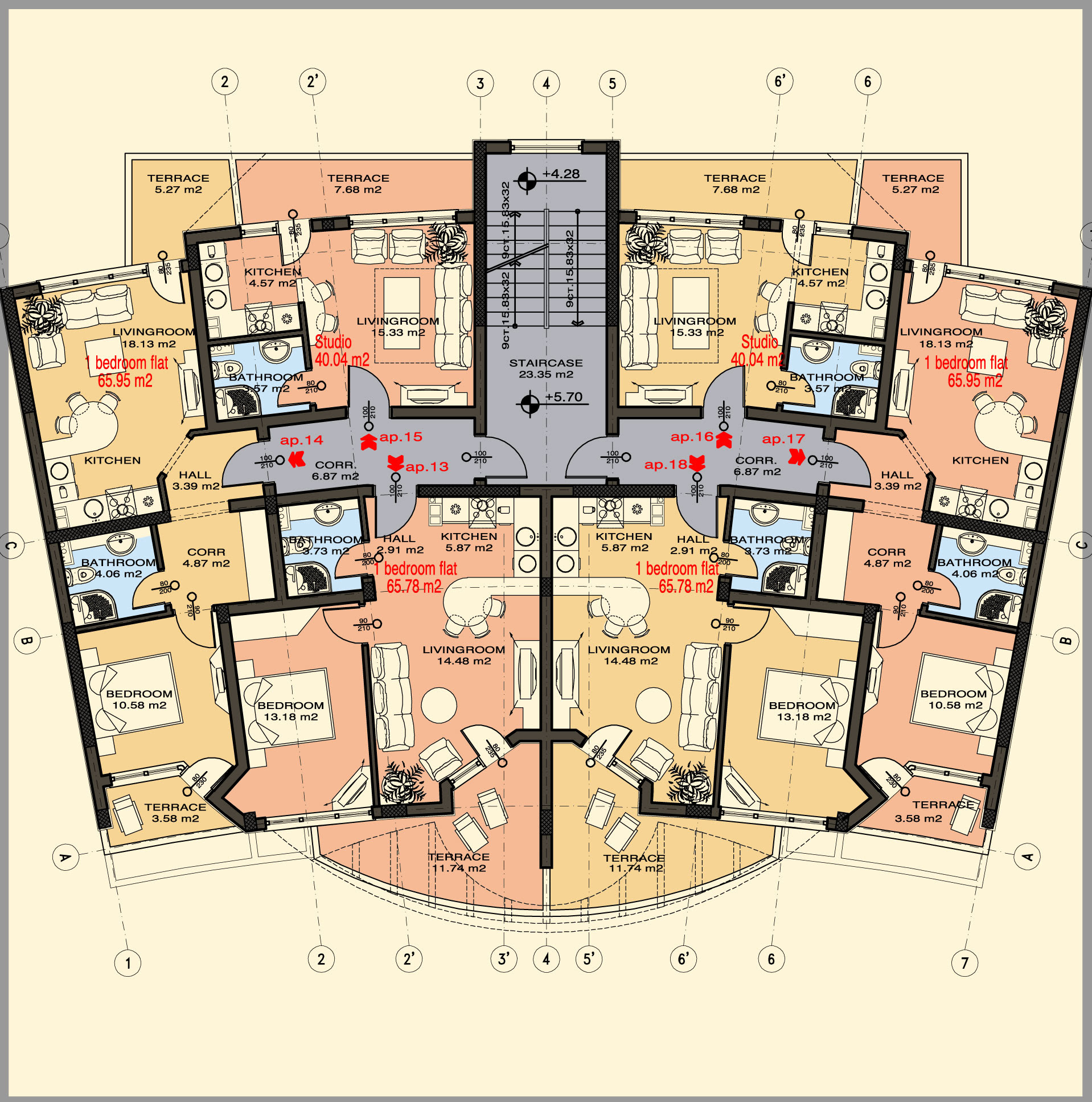Garage Studio Apartment Floor Plans