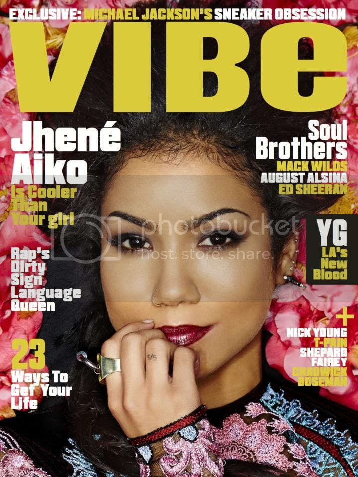 Snapshots: Jhené Aiko covers VIBE's Summer Issue...