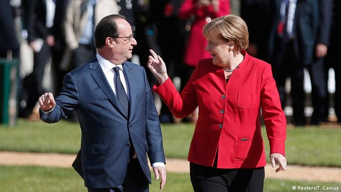 Francois Hollande und Angela Merkel (Foto: Reuters)