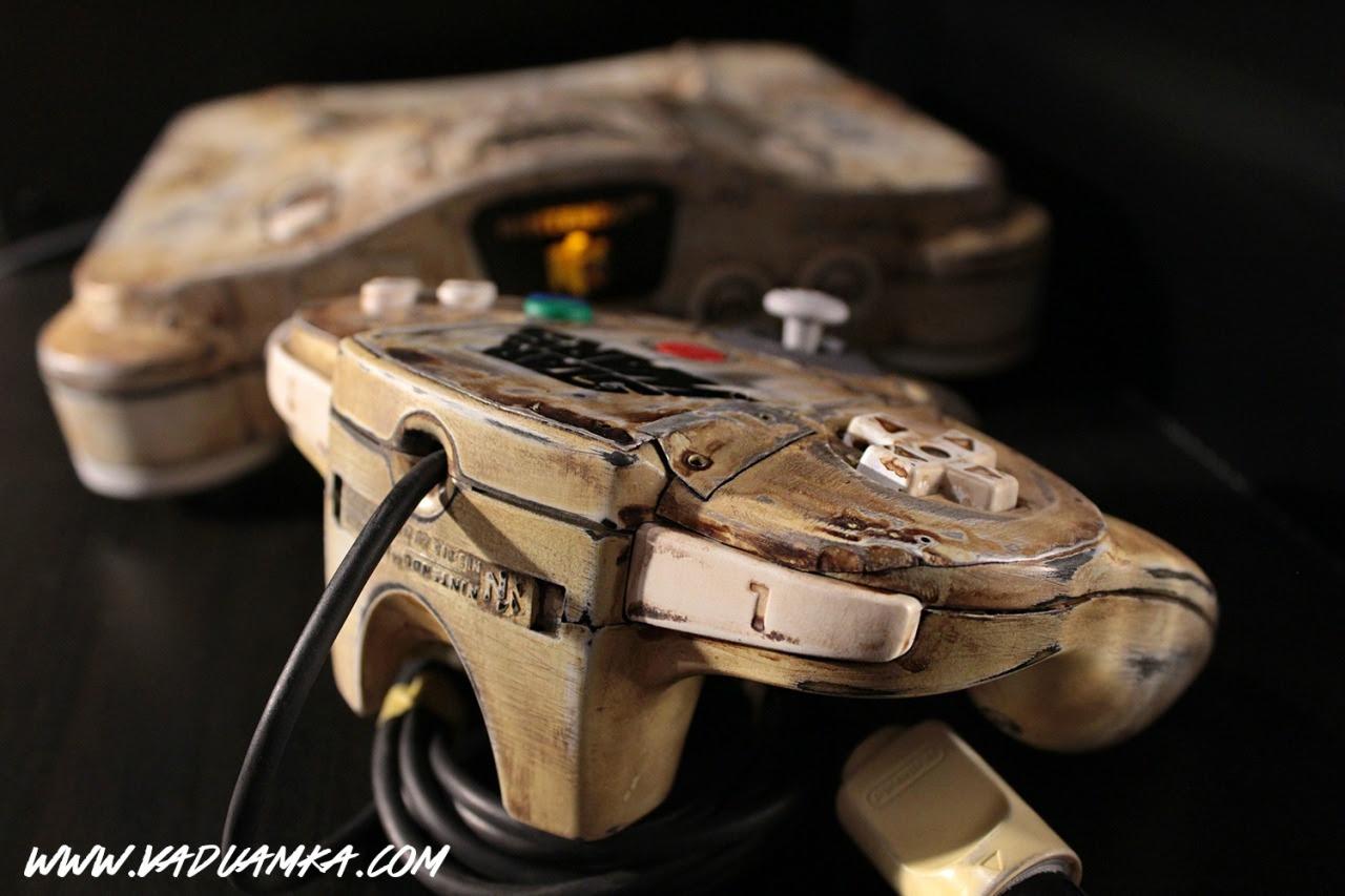 Custom N64: The Wreck of the Desert - Created by Vadu Amka