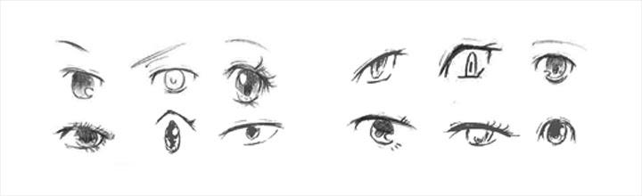 漫画イラストの描き方目を描いてみよう デジタルイラスト漫画