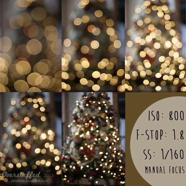 How to achieve Christmas Light bokeh with manual focus