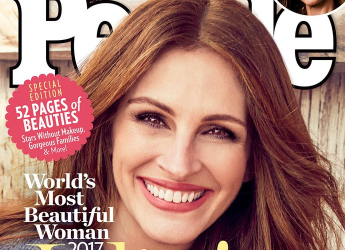 Julia Roberts Is PEOPLE's World's Most Beautiful Woman 2017