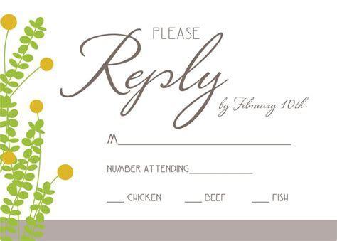 wedding rsvp invitation wording samples   Anniversary
