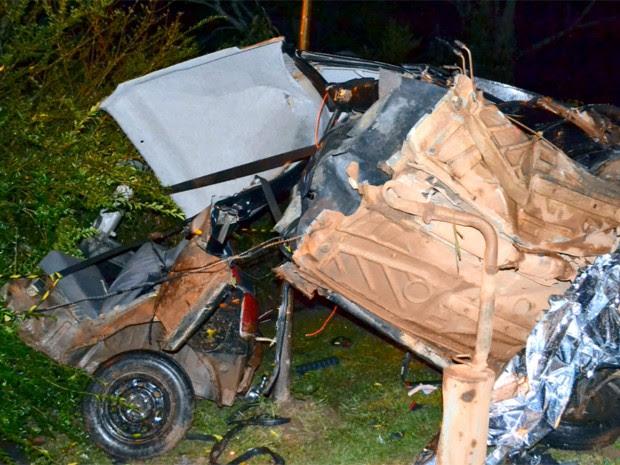 Acidente mata motorista entre Itajubá e Piranguçu (Foto: Luciano Lopes)